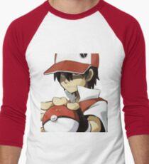 PKMN TRAINER RED Men's Baseball ¾ T-Shirt