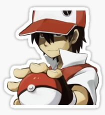 PKMN TRAINER RED Sticker