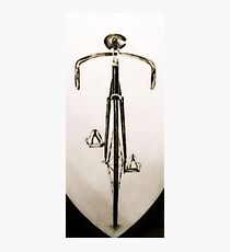 Fixed Gear BIke Photographic Print