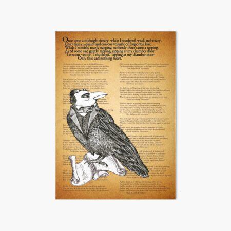 Nevermore Art Board Print