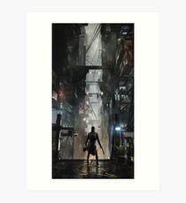 Deus Ex: Mankind Divided Art Print