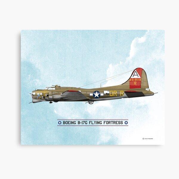 Classic World War 2 B-17 Bomber Canvas Print