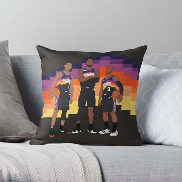 Phoenix Basketball Big 3 City Jersey  Throw Pillow