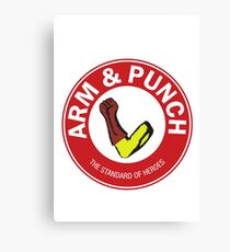 Arm & Punch One Punch Man Canvas Print