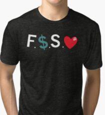 Official Fuck Money Spread Love - J.cole Tri-blend T-Shirt