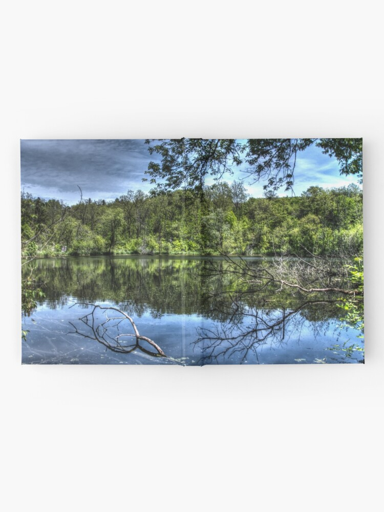 Alternate view of Reflected trees Hardcover Journal
