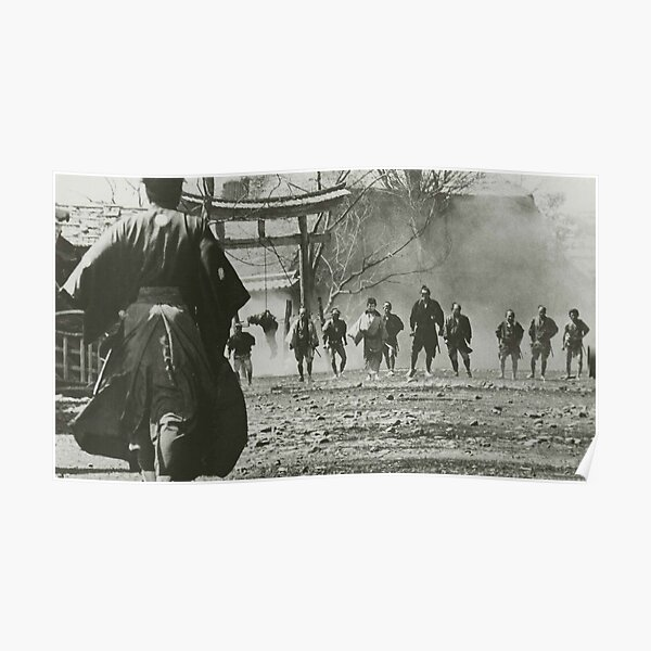 Akira Kurosawa Yojimbo  Poster