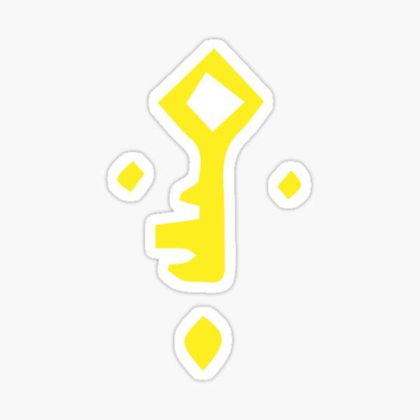 Símbolo clave de los acaparadores de oro - Sea of Thieves Pegatina