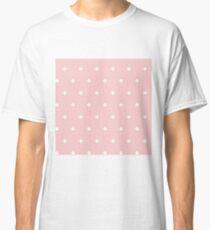 White polka dots Classic T-Shirt
