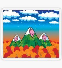 Sleeping giants Transparent Sticker