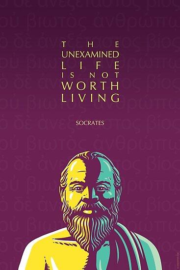 Sokrates-Zitat: Das ungeprüfte Leben von Elvin Dantes
