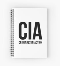 CIA - Criminals In Action Spiral Notebook