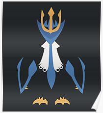 Minimalistic Empoleon  Poster