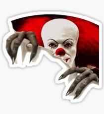 It-horror clown Sticker