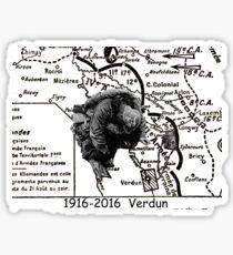 100 year for Verdun Sticker