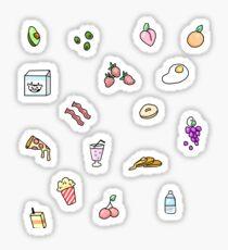 Feinschmecker-Aufkleber Sticker
