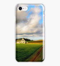 Dirt Road to Old Homestead iPhone Case/Skin
