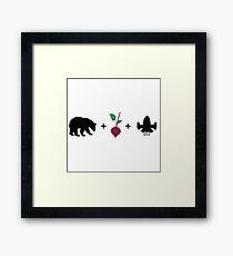 Bears. Beets. Battlestar Galactica. - The Office (U.S.) Framed Print