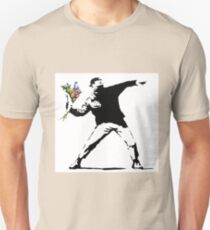 Flower Thrower - Banksy T-Shirt