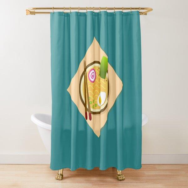 Ramen Dinner Shower Curtain