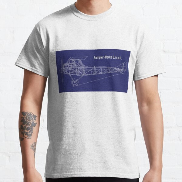 Rumpler-Werke - German Aeroplane  Classic T-Shirt