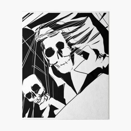 Old Skulls Art Board Print