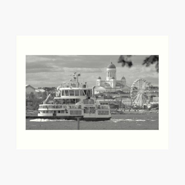 Helsinki From The Sea Art Print