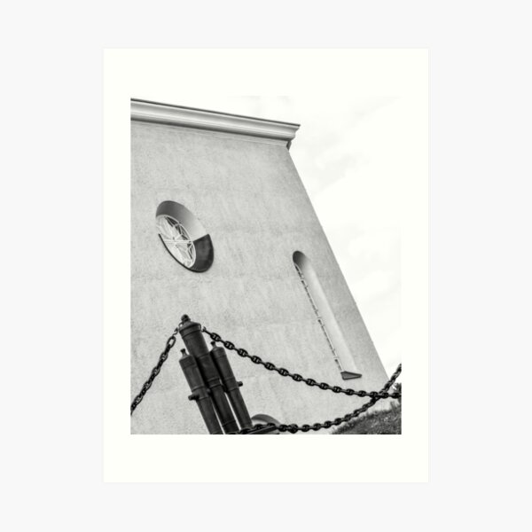 Church & The Chains Art Print