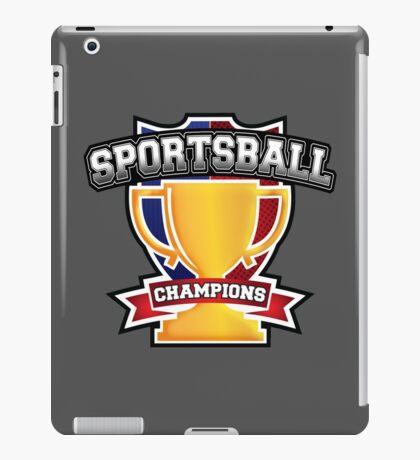 Sportsball Champions iPad Case/Skin