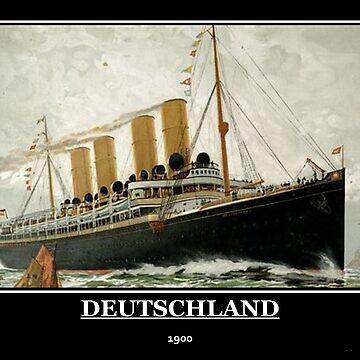 Deutschland 1900 Ship by willie50