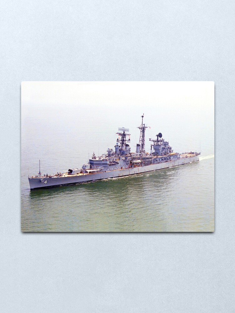 Alternate view of USS LITTLE ROCK (CLG-4) SHIP'S STORE Metal Print