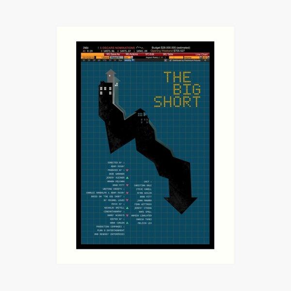 The Big Short Art Print