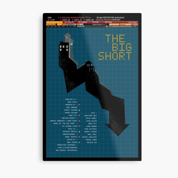 The Big Short Metal Print