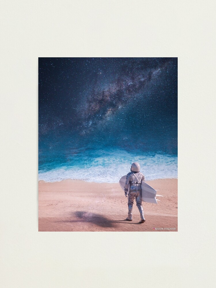 Alternate view of GalaxSea II Photographic Print