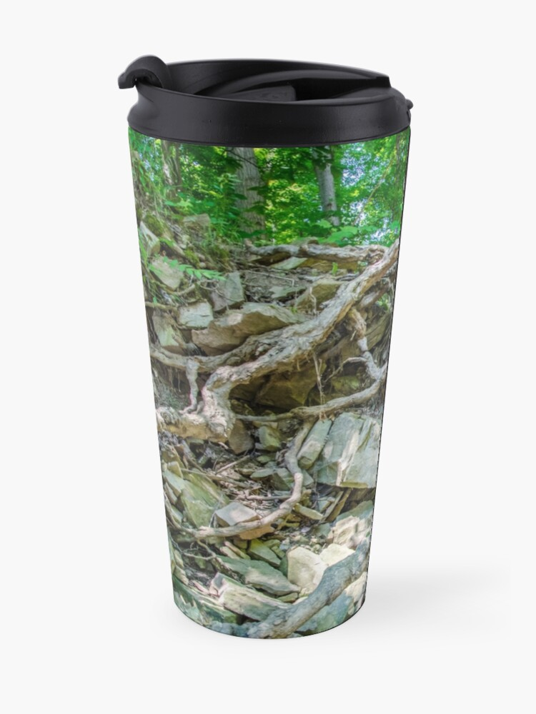 Alternate view of Rocky tree Travel Mug