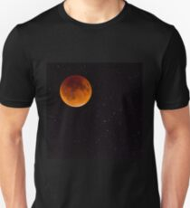 Blood moon Slim Fit T-Shirt