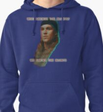 Who Smokes The Blunts? Pullover Hoodie
