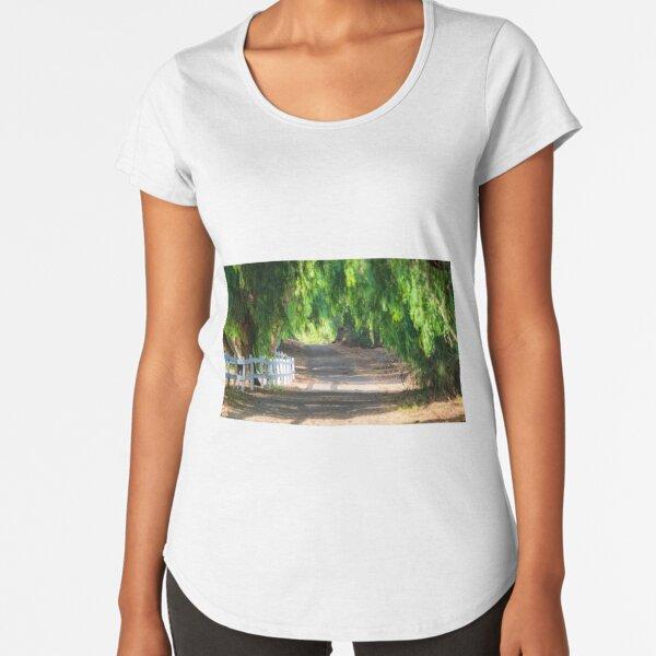 Walking The Trials Premium Scoop T-Shirt