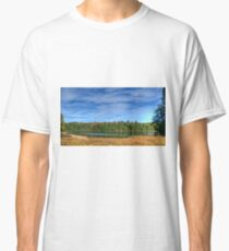 Forest under blue sky Classic T-Shirt