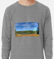 Forest under blue sky Lightweight Sweatshirt