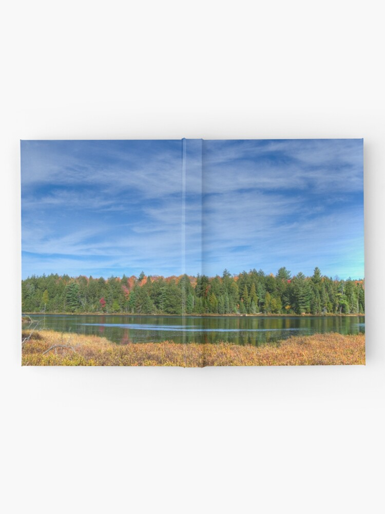 Alternate view of Forest under blue sky Hardcover Journal