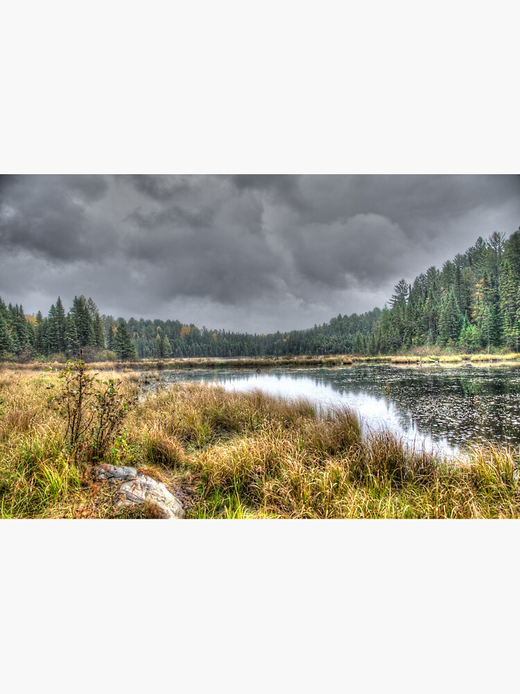 Clouds over the wetlands by daveriganelli