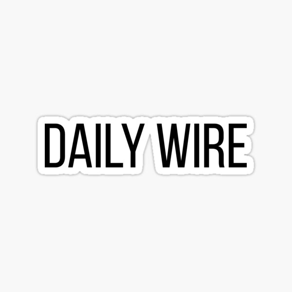 the daily wire classic Sticker