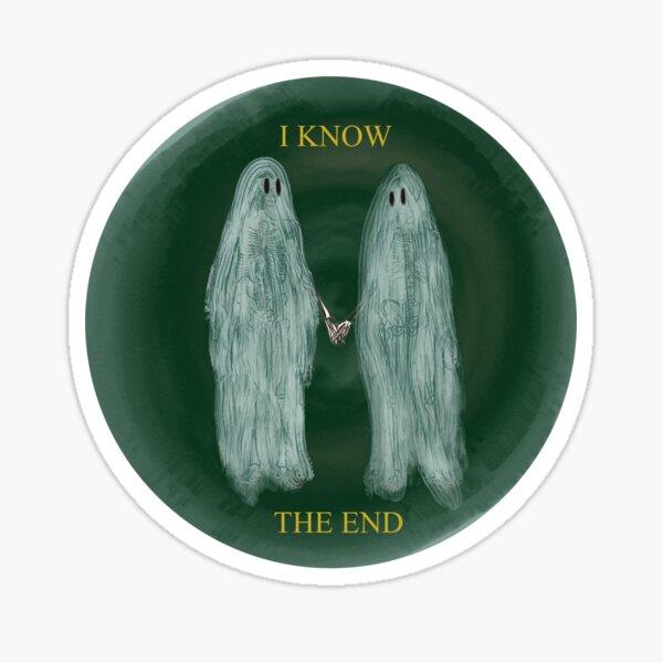 Phoebe Bridgers Art | Ghosts Holding Hands Sticker