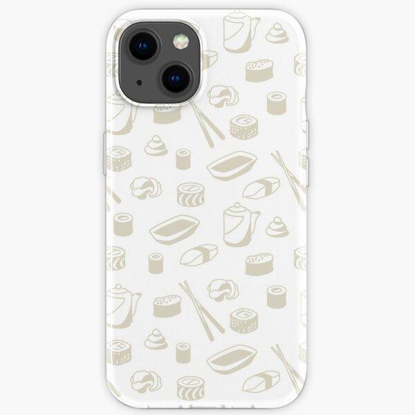 I Want Sushi iPhone Soft Case