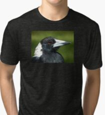 Stripey the Magpie Tri-blend T-Shirt