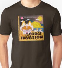 Corgi Invasion - Oregon Beach Day T-Shirt