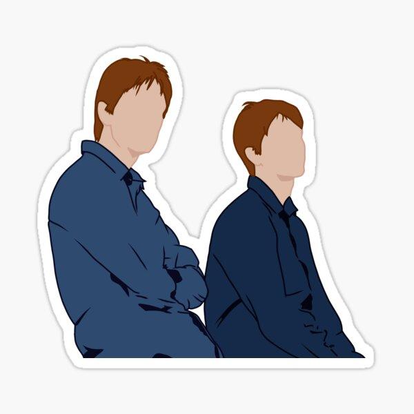 Twins Weasley Sticker Sticker