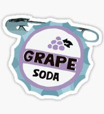 UP Grape soda badge Sticker