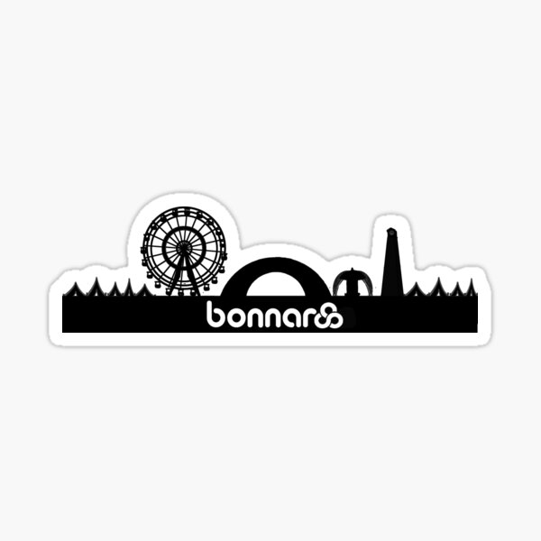 Bonnaroo Skyline Sticker